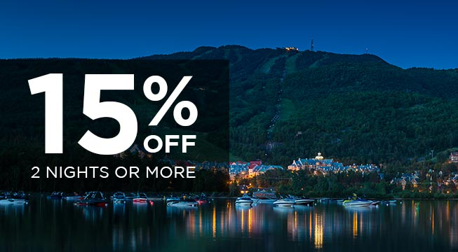 SPRING/SUMMER 2017- Stay 2 nights and more and save up to 15%