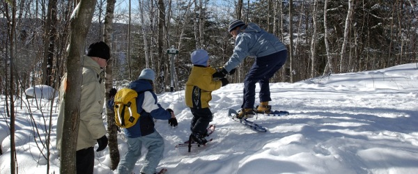 Tremblant snowshoe excursions